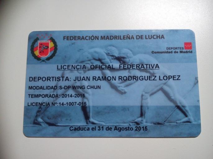 licencia.